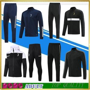 20 21 TOP quality Juventus soccer tracksuit jacket kits 2020 Camisas adults de futebol football training suit Jackets Hooded Tracksuits Windbreaker