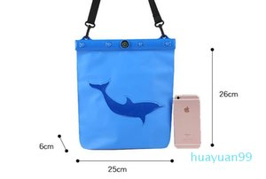 New- waterproof package diving swimming hot springs drift pockets travel bags mobile phone Dry Storage