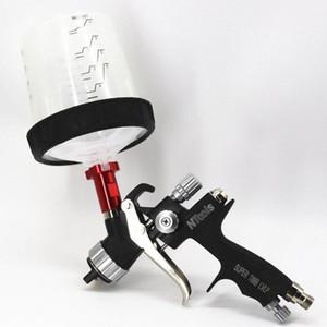 LVLP pistola de pulverización 1.3mm boquilla de pintura Pistolas Para Pintura del aerógrafo pistola de pulverización de pintura, revestimiento de muebles de coches Pintura wu1G #