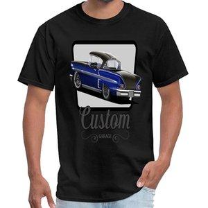 Пользовательский Пользовательский Garage Impala Синего крошечной искры тенниска Homme крошечной искра тенниска большого размер S ~ 6xl хип-хоп