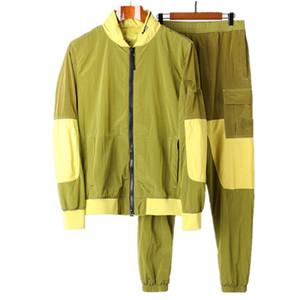 CP Topstoney Korsan Şirketi Konng Gonng İlkbahar ve Sonbahar Yeni Naylon Pantolon Moda Marka erkek Rahat Pantolon Bacak Londra Rahat Spor Pantolon