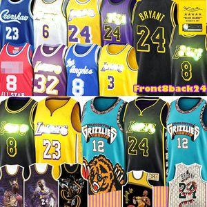 LeBron James 23 Morant Bryant Ja Earvin Johnson 32 Anthony Shaquille O'Neal Davis LosAngelesLakersBasketball Maillots Mamba