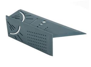 3D Corner Gauge Линейка деревообрабатывающего Scribe Mark Line Калибр T-Type Линейка Square Компоновка Митра 90 градусов Измерение гидрометрического Tool