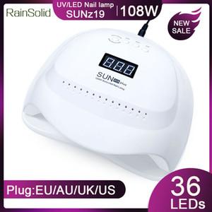 RainSolid 120W / 45W LED Nagel-Lampe 36 Pcs Leds UV-Lampe für Maniküre Gel-Nagel-Trockner Trocknen Polish Auto Sensor Werkzeuge