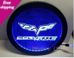 B -257 Chevrolet Corvette Rgb Led Multicolor Wireless Control Beer Bar Pub Club неоновый свет Вход Специальный подарок