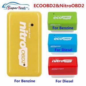 % 15 Yakıt Tasarrufu Nitro ECO OBD2 Performans Chip Tuning Kutusu Fazla Güç Tork Nitro OBD 2 ECOOBD2 Benzin Dizel Petro Benzin