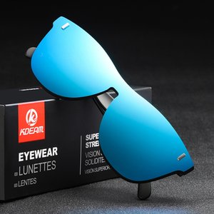 Kadınlar Güneş Polarize TR90 Çerçeve Sürüş Güneş Gözlükleri Kadın Tasarımcı Kırmızı Mavi Purple 2020 KDEAM Shades