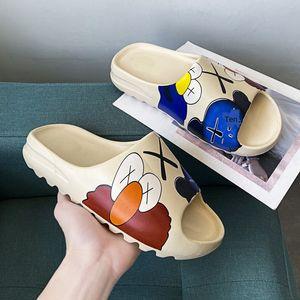 Männer und Frauen 2020 und Slippers neue Kokosnuss Graffiti Sandalen ins Sandalen Paar Pantoffeln Sesame Street trendige Schuhe