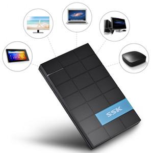 SSK She080 2 0.5 بوصة USB 3 0.0 القرص الصلب ضميمة الخارجية حالة صندوق ل7MM / 9 .5mm / 12MM / 12 القرص الصلب .5mm 2 0.5 SATA HDD SSD