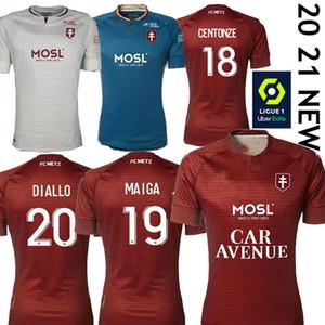 20 21 FC METZ FOOTBALL JERSEYS DIALLO 20 CentOnze 18 vagner 27 NIANE 7 FOFANA 6 ACCUEIL 2020 2021 JERSEY FOOTBALL