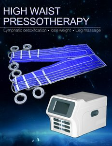 Venta caliente de la presión de aire presoterapia Wave gran adelanto Infrare drenaje linfático Celulitis Grasa corporal adelgazante masaje de la máquina equipo de la belleza