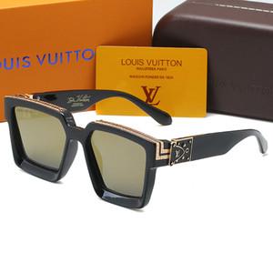남성과 여성 여름 그늘 거울 큰 광장 태양 안경 UV 낚시 운전 안경에 대한 새로운 96,006 선글라스