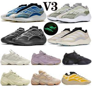 الرجال المدربون 700 v3 ازاريث الفاح الصحراوى الفئران 500 العظام الأبيض الناعمة الرؤية الملح استحى منصة الركض أحذية رجالي الرياضة النساء أحذية رياضية