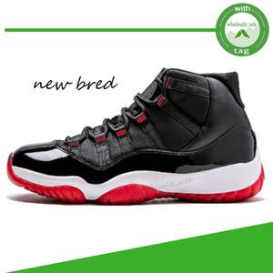 مع صندوق لدت الجديدة كونكورد 23 أحذية كرة السلة القطة السوداء 11S حفلة موسيقية ليلة 11 ريال من ألياف الكربون رياضة الأحمر غاما الأزرق الرجال المدربين أحذية رياضية
