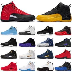 Джордон 12 XII мужской баскетбол обувь 12s воздуха темный Concord Французский синий университет Золото такси Мастер OVO Белый Открытый ретро Спортивные кроссовки
