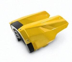 Motocicleta MSX 125 MSX125 SF Motor protector Sob Cow Fair Bellyt Amarelo nN69 #