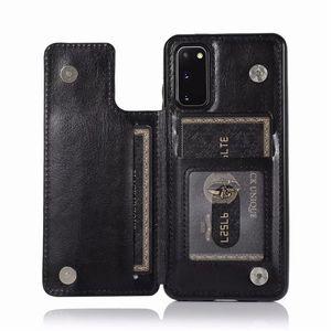 Leder-Mappen-Kasten für Samsung Galaxy A21 A11 A10 A51 A71 A81 A91 Schutz Phone Cases Abdeckung für Samsung A90 A50 A40 A30 A20S Hinterbauständer