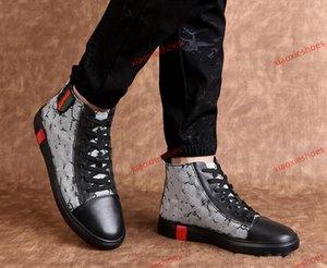 Gucci shoes de estilo clásico-top deportivo 2020 nueva moda de los hombres Luxu Diseño Hombres zapatillas de deporte para hombre de alta calidad zapatos de cuero UP