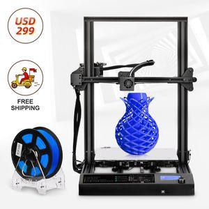 Impresora 3D de diseño 310 * 310 * 400mm Tamaño de impresión grande Impresora FDM y PLA / ABS / PETG FILAMENTO 1.75mm Prototipando rápido Regalo de juguete creativo.