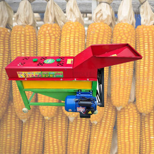 LEWIAO Hot 5T-80 KW Commercial Best Price Farm electric corn maize sheller thresher   corn peeling machine220v