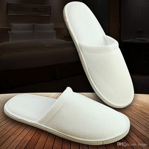Customizable Hotel Comfortable Inner Thick Disposable Slippers Anti-slip Home Guest Shoes Breathable Soft Disposable Slippers DH0608 T03