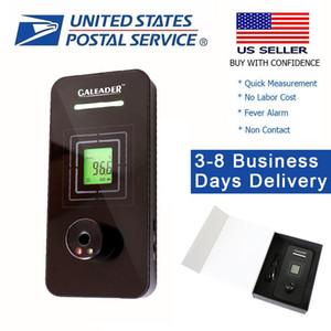 US expédition 1S Temps de réponse non-Contact Fièvre d'alarme intelligent infrarouge automatique Thermomètre pour la zone publique