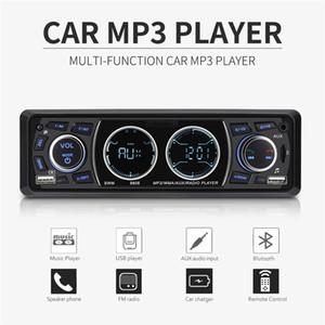 1 Din voiture Radios 4 pouces voiture stéréo MP3 Lecteur de musique Bluetooth Support double USB TF AUX FM Mains d'appel