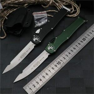 핫 판매 MICROTECH 150-10 HALO V는 6 자동 칼 ELMAX는 전술 나이프 캠핑 야외 알루미늄을 합금 핸들 블레이드