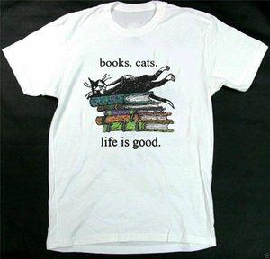 Edward Gorey Livros Gatos Sweet Life EUA são Tamanho S-3xl camisola Camiseta