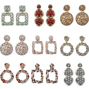Geometric Earring Best lady Fashion ZA Resin Drop Earring For Women Wedding Luxury Jewelry Boho Elegant Shiny Dangle Statement Earrings z62