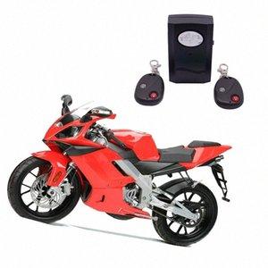 Alarme für Motorrad-Motorrad-Roller-Anti-Diebstahl-Alarm-System Universal-Wireless Security Horn Alarm Moto Fern 120db Lautsprecher 3I4D #