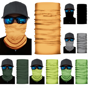 Unisex Head Cycling Face Mask Neck Gaiter Biker's Tube Bandana Scarf Wristband Beanie Cap Balaclava Snood Headwear Outdoor Sports FY7136