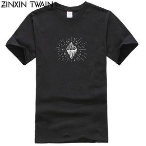 Trendy kreative Grafik-T-Shirt Top Mountain Icon Tattoo T-Shirt für Mans