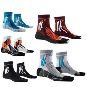 Pro Запуск лыжных гонок носков Мужчина Compression Socks Открытого Велоспорт дышащего Баскетбол Спорт для женщин