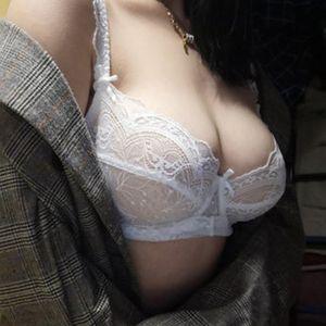 shaonvmeiwu Süper ince ve küçük göğüslü sünger içermeyen şeffaf sütyen