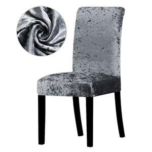 9 Cores sólidas Cadeira Coberta estiramento Universal capas de cadeira de tamanho para Natal Home Hotel Banquet Partido Leorate