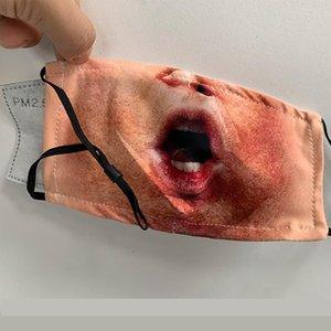 Mascarillas diseñador Mascherine lavable de algodón niños Maske adultos PM2.5 filtro de carbón activo lavable elástico del oído ajustable correas