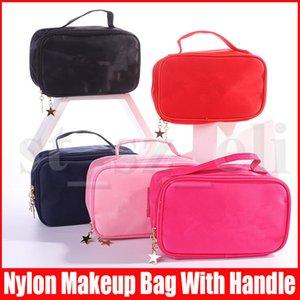 Multifuncional Viagem Cosmetic Bag Mulheres Roupa interior Bras armazenamento bolsa de maquiagem Bolsa Artigos de higiene pessoal Organizador Waterproof Feminino compõem Casos Bolsa