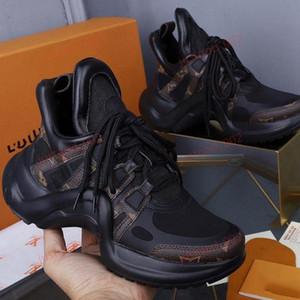 Louis Vuitton LV sneakers espadrilles Couple chaud tendance ARCHLIGHT mode style simple et classique confortables hommes et femmes chaussures de sport multi-couleurs en option