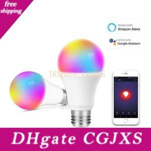 Smart Led Ampoules Led Wifi Ampoule 7W Rgbcw Magic Light Ampoules Lumières Compatible avec Alexa Google Smart Home