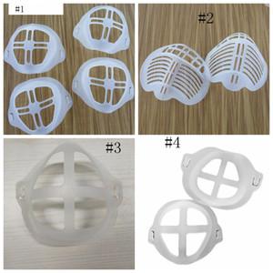 Masque PE de masques 3D Support support Assist masque respiratoire Coussin intérieur Support Masques bouche respirant Cadre Valve GGA3671-7