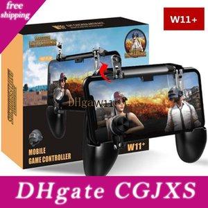 W11 móvil Mango Teléfono Gaming Controller Gamepad Joystick Pubg Metales L1 R1 fuego Gatillo para el teléfono