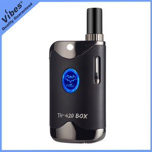 Kangvape TH420 Thick Oil Vaporizer Kit With 650mah Preheating Vape Battery and 510 Thread Empty Cartridge - Fedex Tax Free Shipping