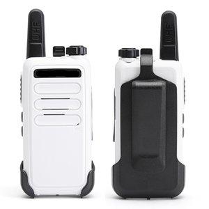 Freeshipping 4 PCS Portatile Mini Walkie Talkie VOX Carica USB BF-888S Due Way Station Station Hotel con cavo di programmazione USB