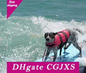 Jacket Dog Life Strips Xs -Xxl Piscina Vest Swimsuit Com Reflexivo, ajustável Correia de vida preservador Buoyancy Aid Flotação Suit Para extra