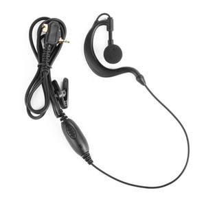 1 Pin Earpiece Headset PTT for Motorola Walkie Talkie MTP850 MTH800 MTH650 Portable Ham Radio G-shape Clip Microphone Earphone