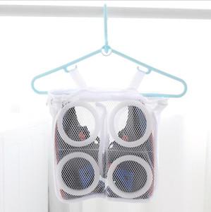 Zapatos perezosos de lavado bolsas de malla de lavandería Handong bolsa para zapatos de la ropa interior Zapatos Transmitido herramienta seco lava protector Organizador LJJA1395