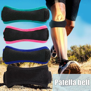 Soft Brace Knee Protector Belt Adjustable Patella Strap Sport Guard Support Belt ALS88