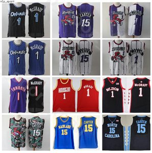 Tracy McGrady Jerseys Vince Carter North Carolina Tar Heels College-Weinlese-Basketball MT.ZION Christian Florida Daytona Beach Festland