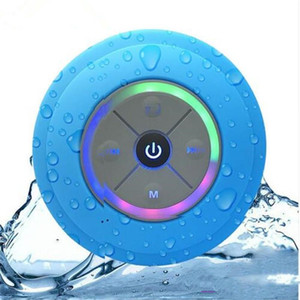 Water Shower Sound Speaker Bathroom Bar Pk Bluetooth Waterproof A9 Wireless Music Portable Q9 Speakers Resistant Led Mini C6 Car cases2010